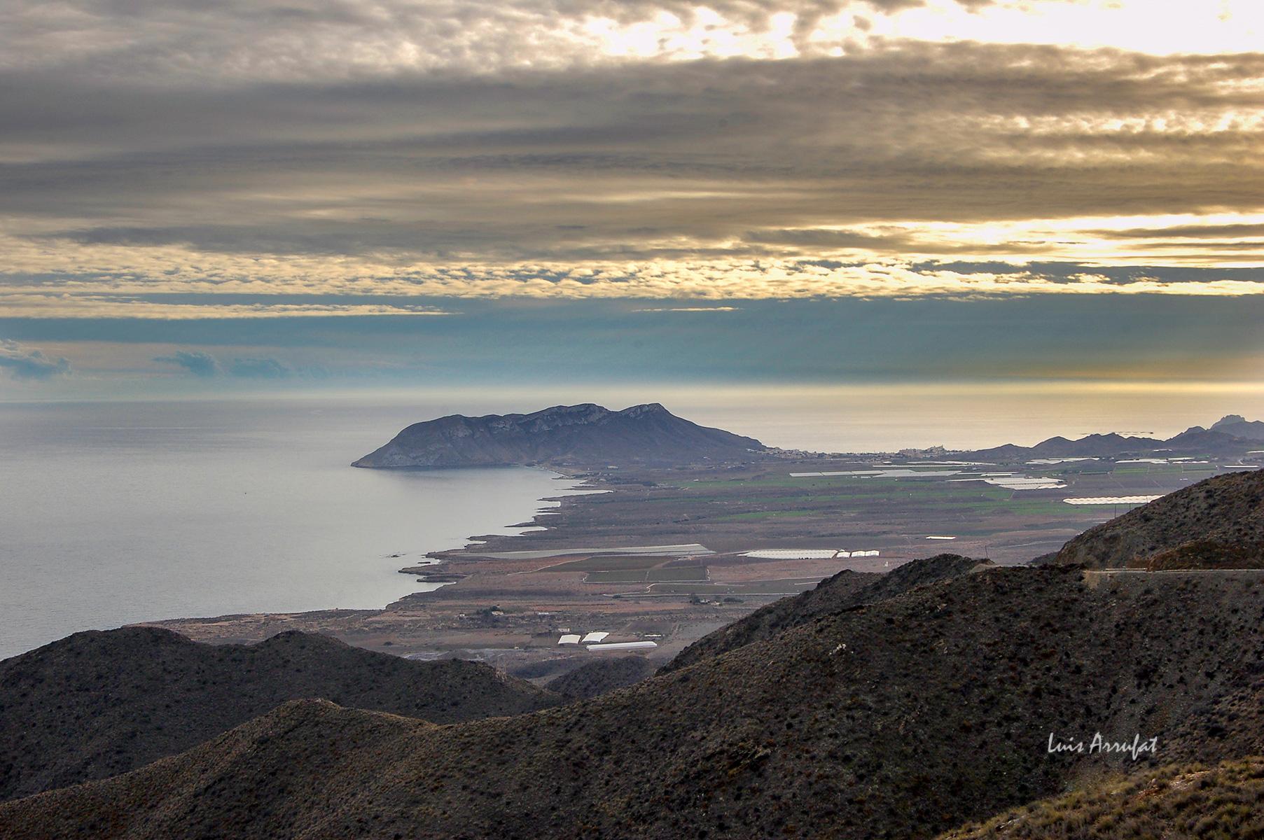 Cabo Cope y las playas de la marina de Cope, un lugar de interés geológico a proteger.